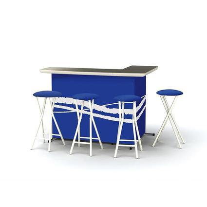 Classic Blue Bar Set