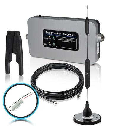 Smoothtalker RV Kit with Fused Install Power Supply Magnetic Antenna