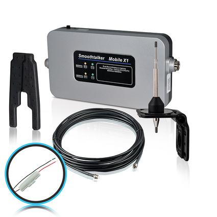 RV Kit with Fused Install Power Supply & High Gain Antenna