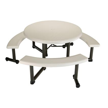 Round Picnic Table, 44