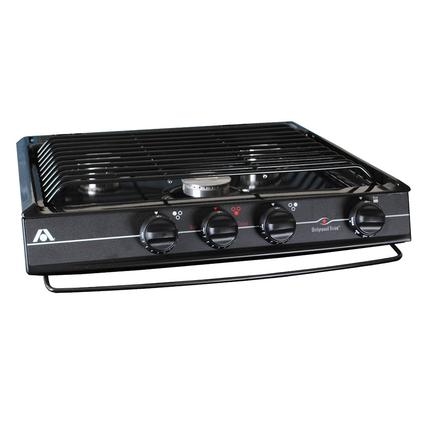Wedgewood CV-35 3-Burner Cooktop, Black