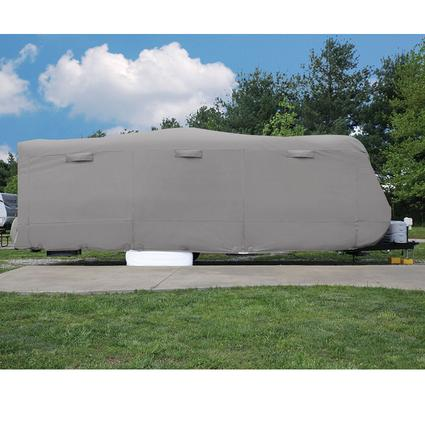Elements Travel Trailer Premium All Climate RV Cover, 28'7