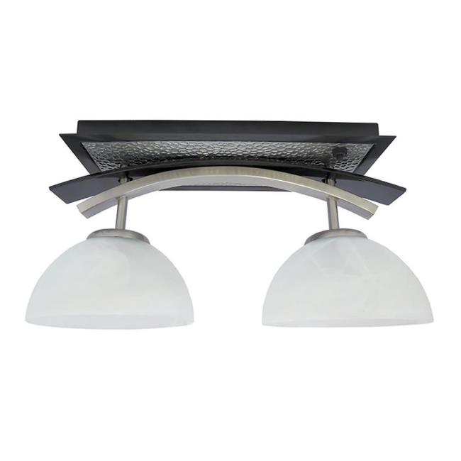 dinette lighting fixtures. Simple Fixtures Image Willow Two Bulb Dinette Light BlackNickel Combo To Enlarge The  Image  Inside Lighting Fixtures I