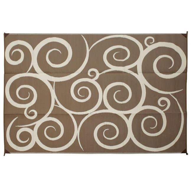 Reversible swirl design patio mats direcsource ltd patio mats image reversible swirl design patio mats to enlarge the image click or press enter gumiabroncs Images