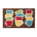 Stacked Coffee Mug Mat, 18