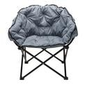 Charcoal Club Chair