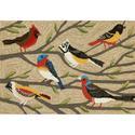 Natural Bird Rug, 24