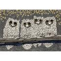 Gray Night Owls Rug, 24