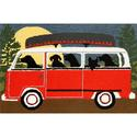 Red Camping Trip Rug, 24