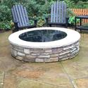 Round Fire Pit Cover, 50