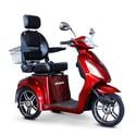 3-Wheel Scooter with Electromagnetic Brakes, Red
