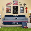 NFL Patriots Sofa Cover