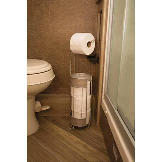 Roll Stand Plus, Wood Finish