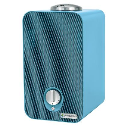 4-in-1 Table Top Night-Night Air Purifier with Kid's Projector, Blue