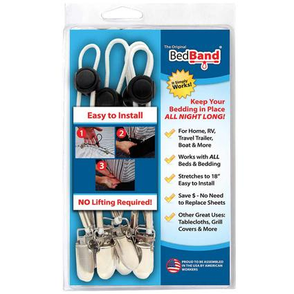 The Original BedBand, Set of 4