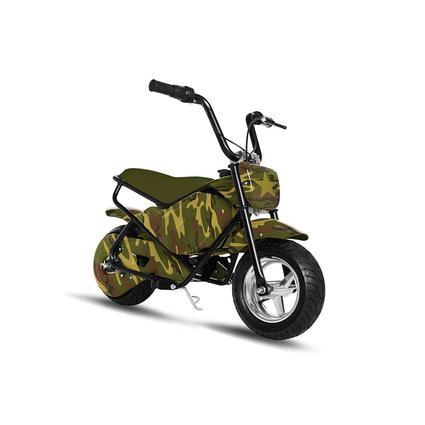 Kids' Camo Electric Mini Bike