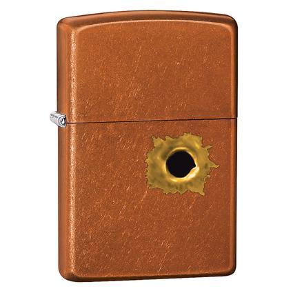 Zippo Lighter, Bullet Hole Design