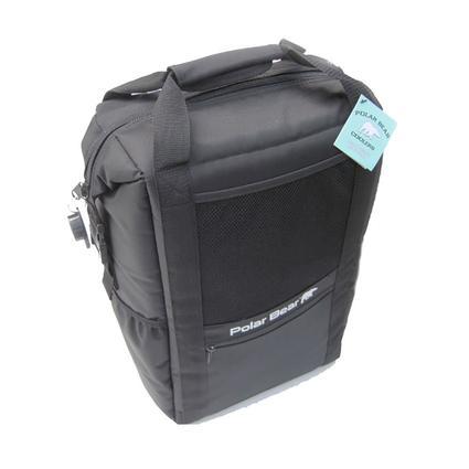 Polar Bear Backpack Cooler, Black