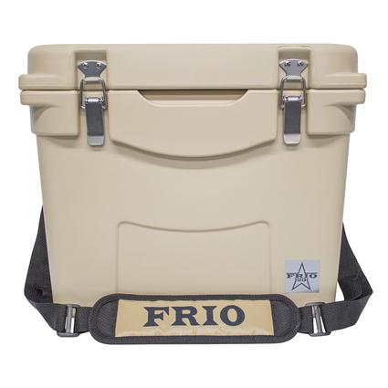 Frio Hard Side Ice Chest, Tan, 25 Qt.