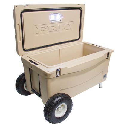 Frio Extreme Hard Side Ice Chest, Tan, 65 Qt.