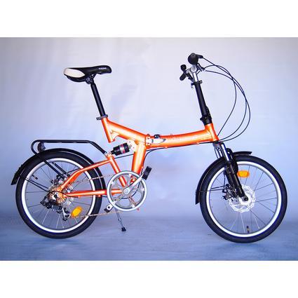 Origami Cricket 7 Bike, Orange