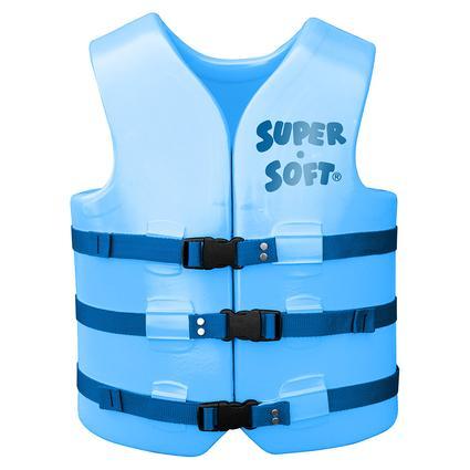 Super Soft Adult Life Vest, Large, Marina Blue