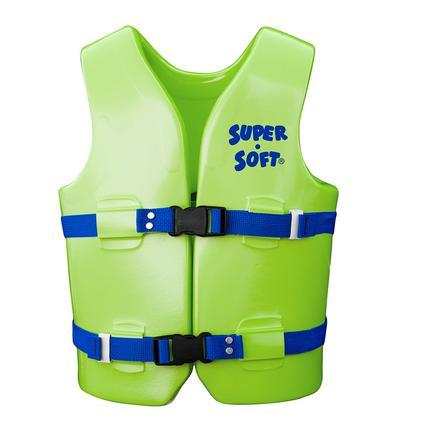 Super Soft Youth Life Vest, Medium, Kool Lime Green
