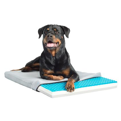 TheraCool Gel Cell Cooling Pad with Tri Core Charcoal-Infused Memory Foam
