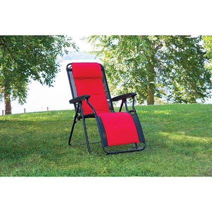 Sporty Red Recliner