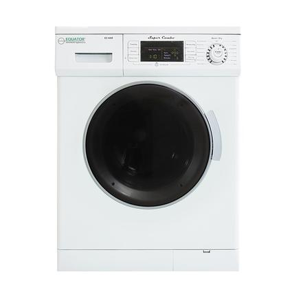 Equator 1.57 cu.ft. Compact Convertible Super Combo Washer with Venting/Condensing Drying and Automatic Water Level and Sensor Dry, White