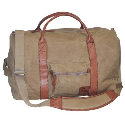 Buxton Huntington II Convertible Duffel, Tan