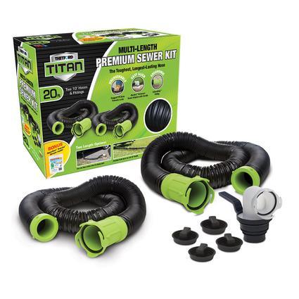 Titan 20 Multi-length Premium Sewer Kit