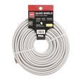 RG6 Digital Quadshield Coax Cable - 100