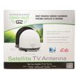 GM-2000, Carryout G2 Automatic Portable Satellite Antenna, White