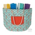 Cooler Tote Bags, Chevron