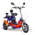 Crossover 2 Passenger Scooter, Blue/Orange
