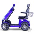 4 Wheel Heavy Duty Scooter, Blue