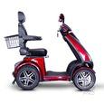 4 Wheel Heavy Duty Scooter, Red