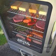 Smoke-Tronix 40 Electric Smoker with Bluetooth, Stainless Steel