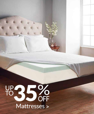 Save up to 35% on Mattresses >