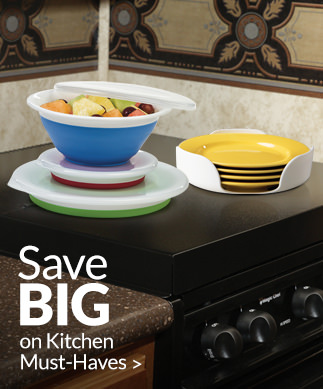 Save BIG on Kitchen Must-Haves >