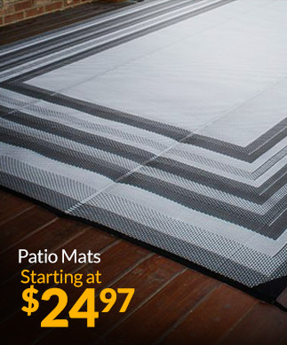 Patio Mats Starting at $24.97