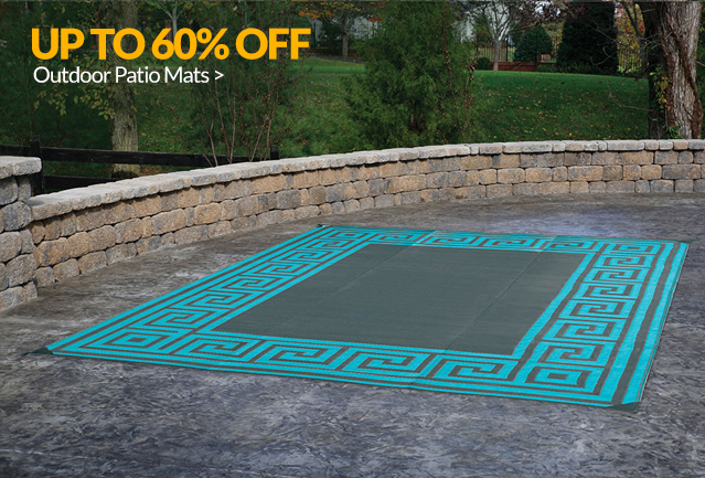 Up to 60% off Outdoor Patio Mats