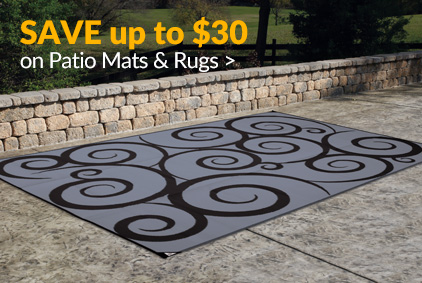 Patio Mats & Outdoor Rugs Starting at $24.99