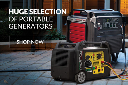 BIG Savings on Portable Generators