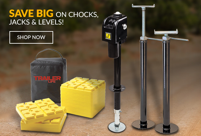 Save BIG on Jacks, Levels & Chocks >