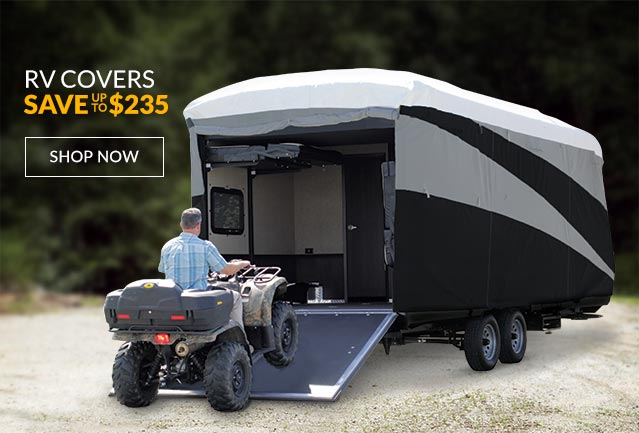 Save up to $235 on RV Covers