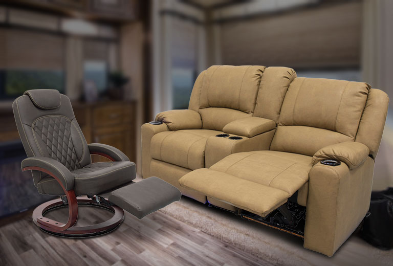Save up to $385 on RV Furniture