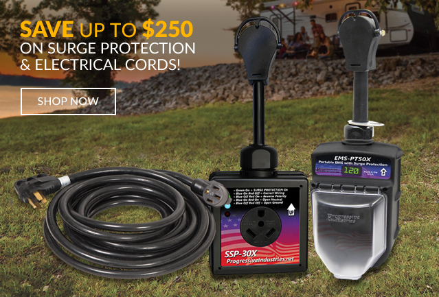 Save up to $250 on Surge Protection & Electrical Cords