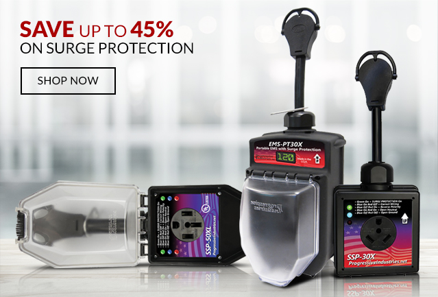 Save up to 45% on Surge Protection